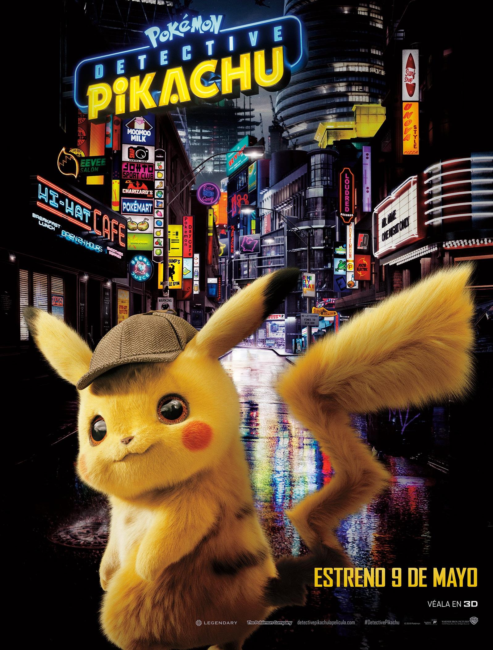 """Participa por una entrada doble para la premiere de """"Detective Pikachu"""""""