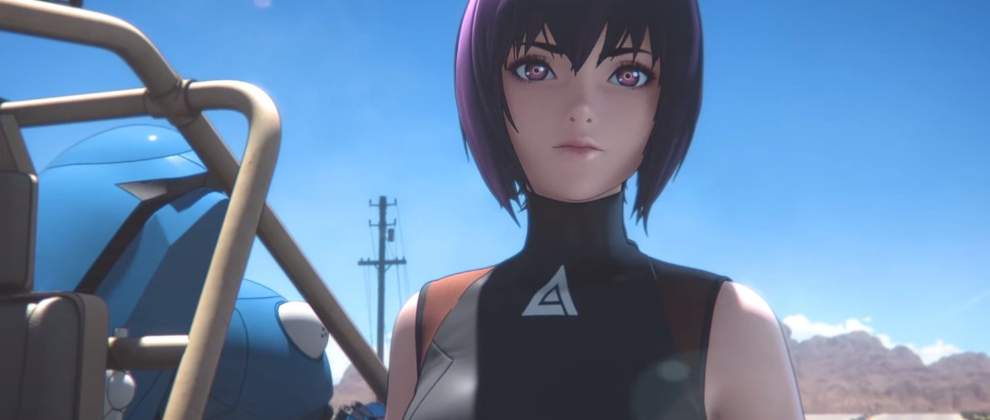 "Nuevo teaser de la serie ""Ghost in the Shell SAC_2045"""