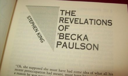 The revelations of Becka Paulson de Stephen King llegará como serie de TV