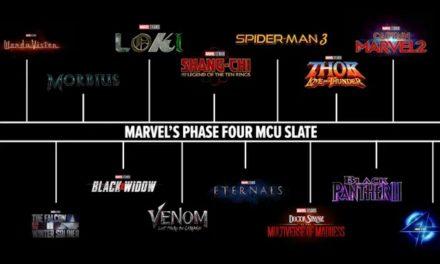 Marvel celebra sus películas con adelanto de la fase 4 de MCU