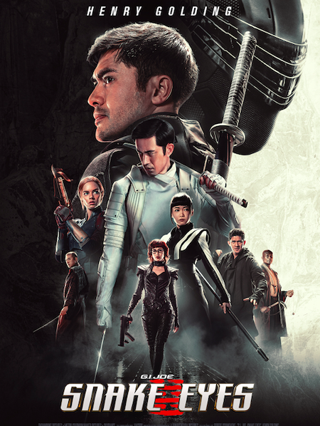 "Lanzamiento trailer ""G.I. Joe: Snake Eyes"""